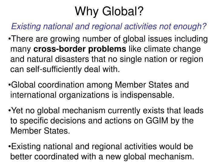 Why Global?