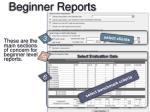 beginner reports