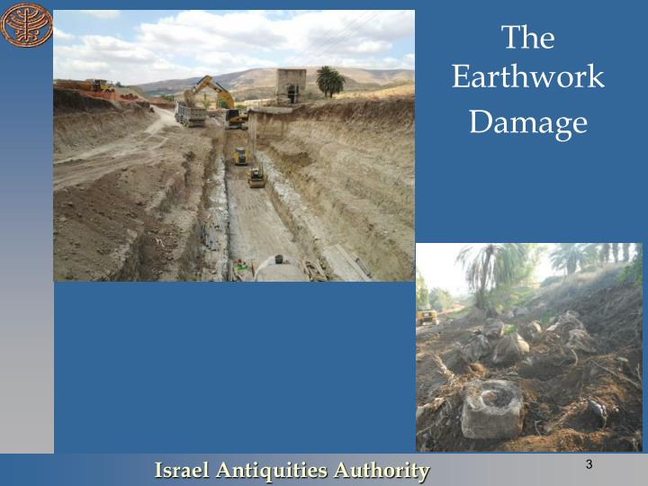 The Earthwork Damage