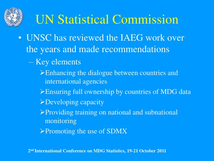UN Statistical Commission
