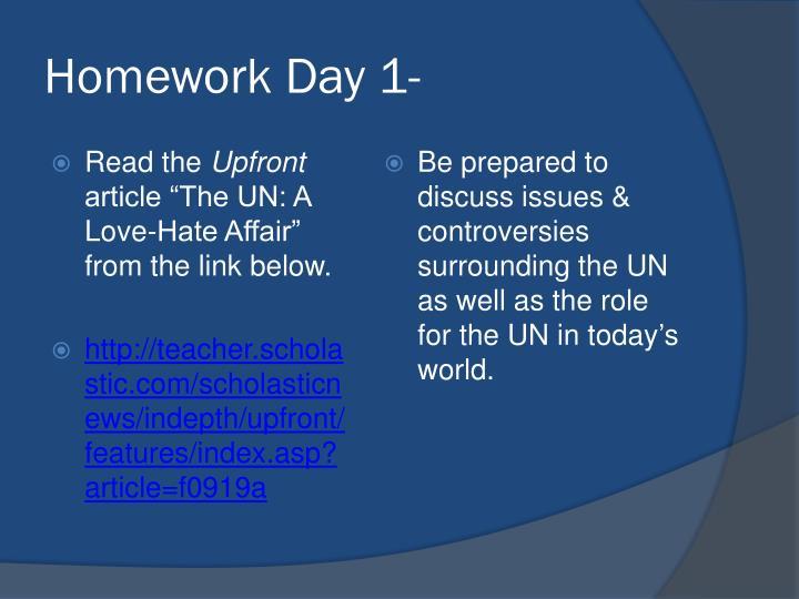 Homework Day 1-