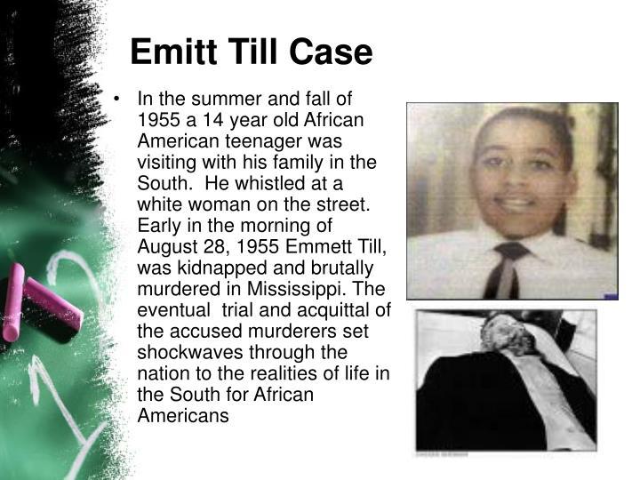 Emitt Till Case
