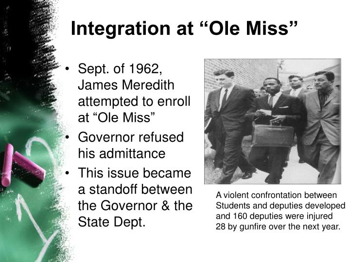 "Integration at ""Ole Miss"""