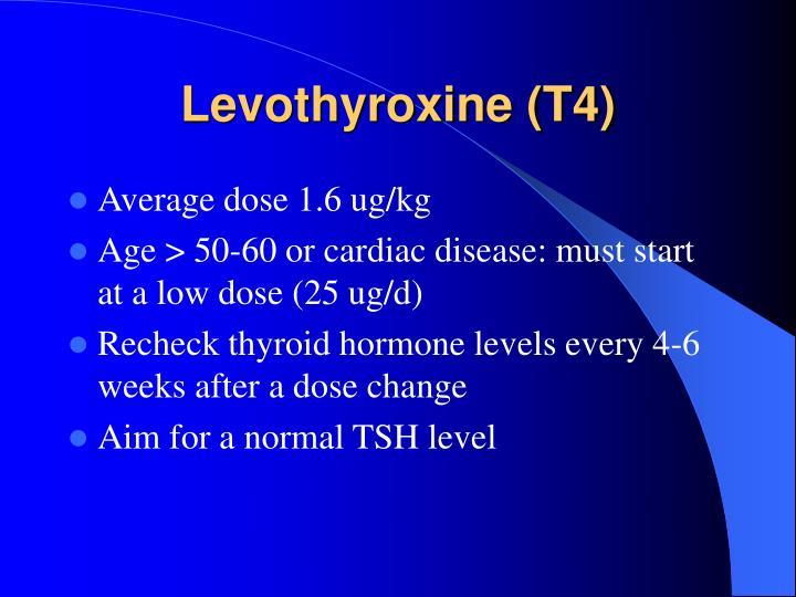 Levothyroxine (T4)