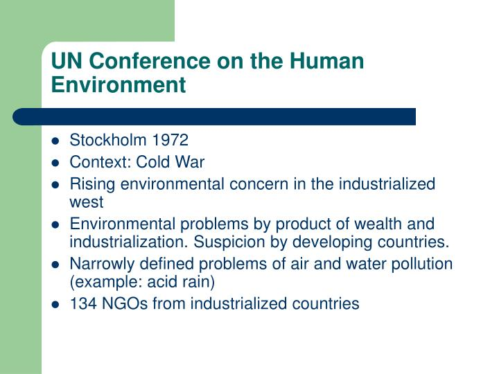 UN Conference on the Human Environment
