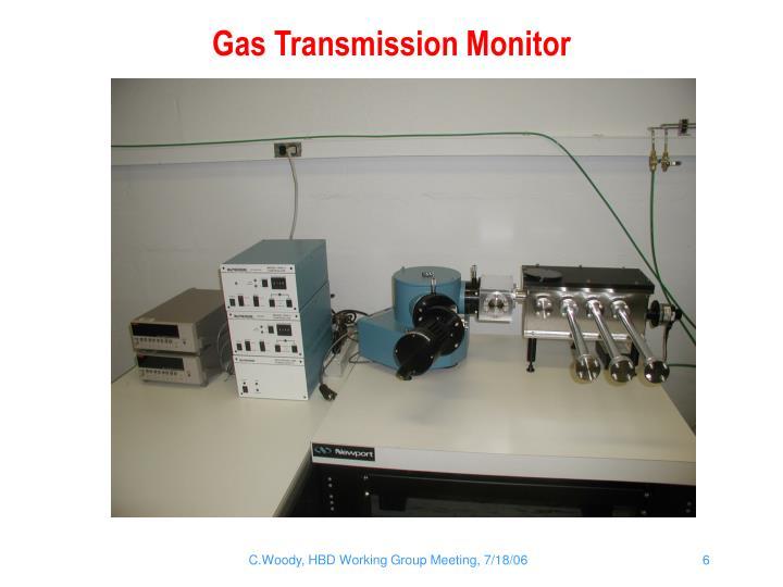 Gas Transmission Monitor