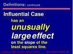 influential case