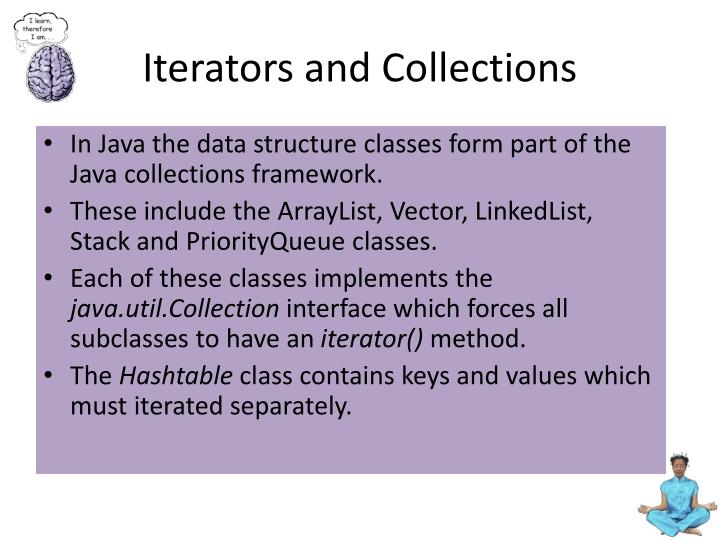 Iterators and Collections