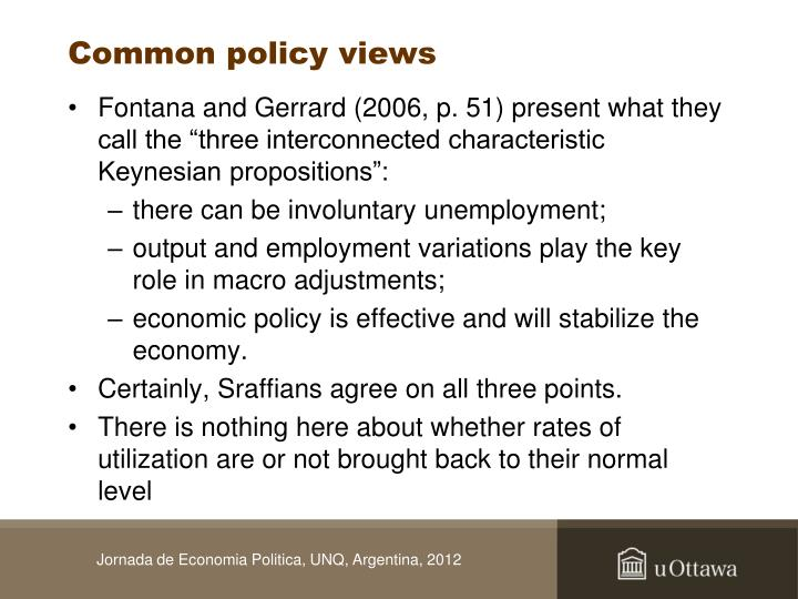 Common policy views
