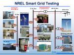 nrel smart grid testing