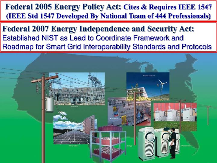Federal 2005 Energy Policy
