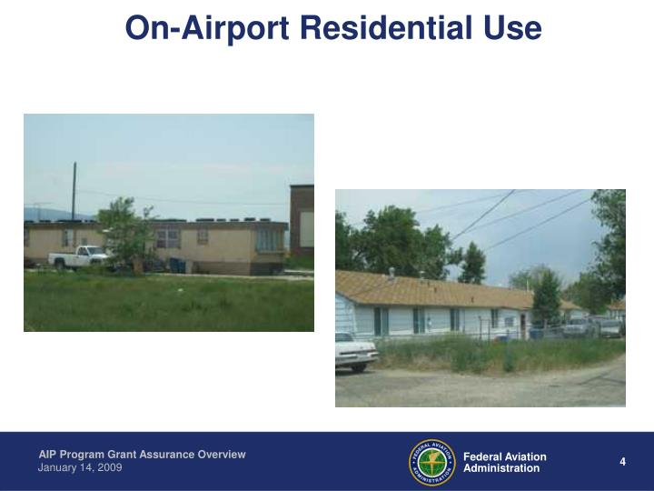 On-Airport Residential Use