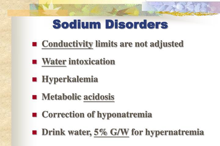 Sodium Disorders