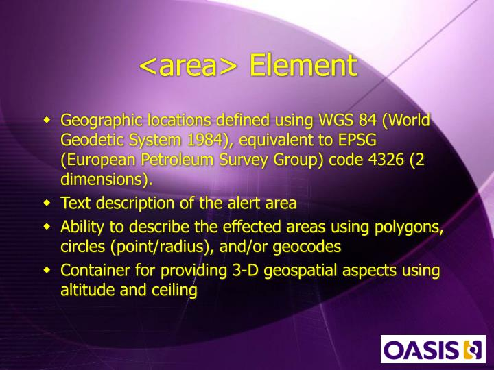 <area> Element