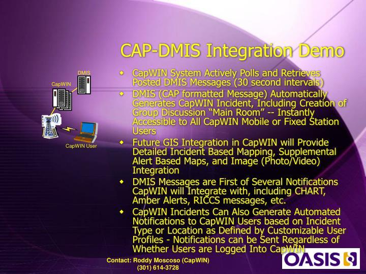 CAP-DMIS Integration Demo