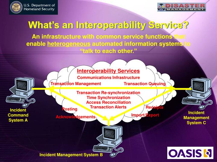 What's an Interoperability Service?