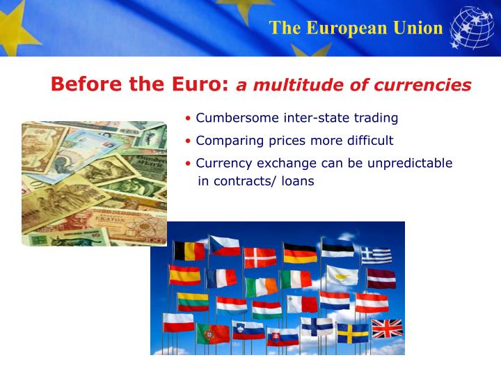 Before the Euro: