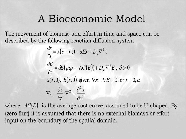 A Bioeconomic Model
