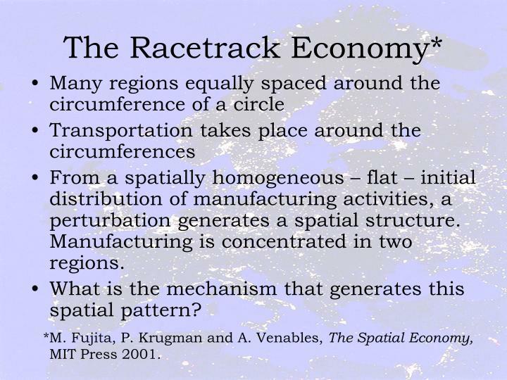 The Racetrack Economy*