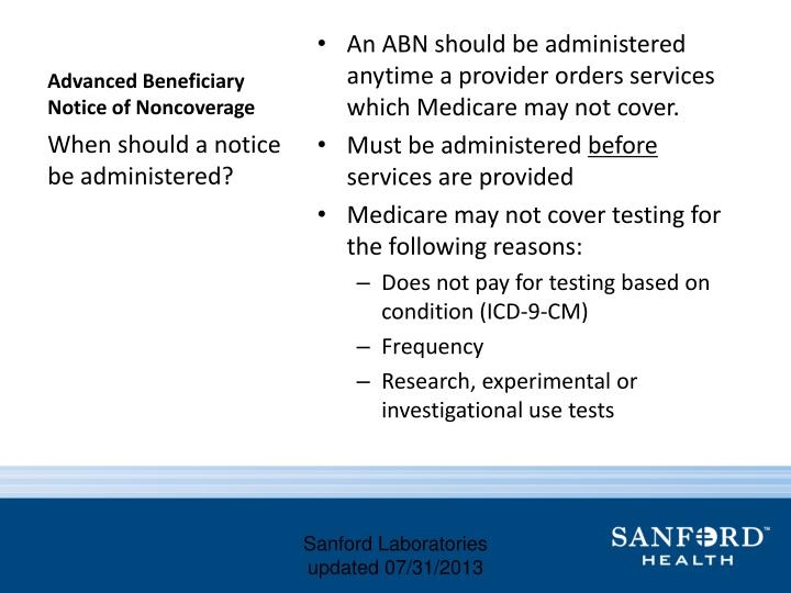 Advanced beneficiary notice of noncoverage2