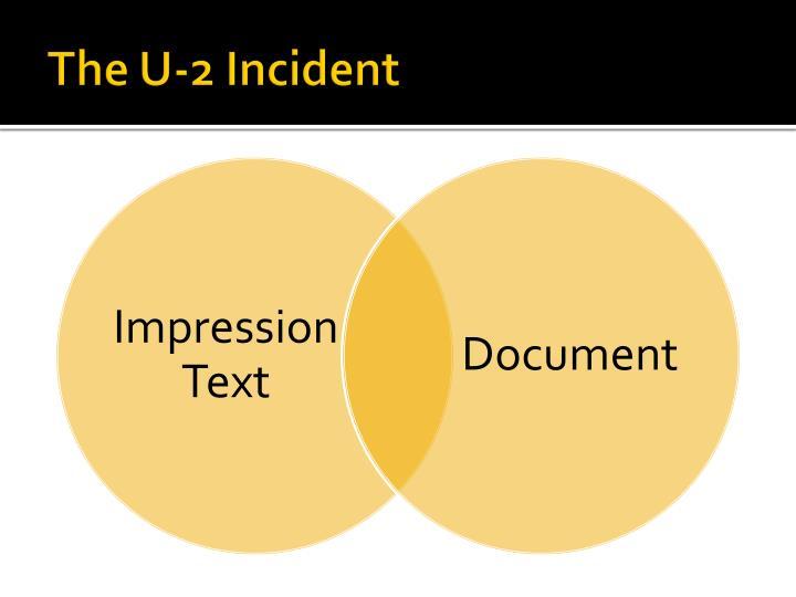 The U-2 Incident