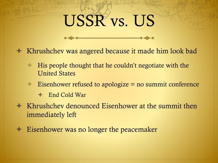 USSR vs. US