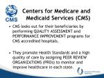 centers for medicare and medicaid services cms1
