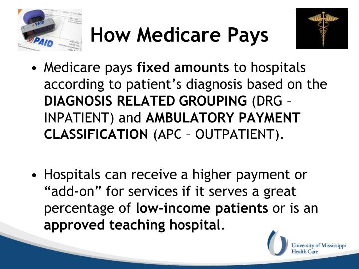 How Medicare Pays