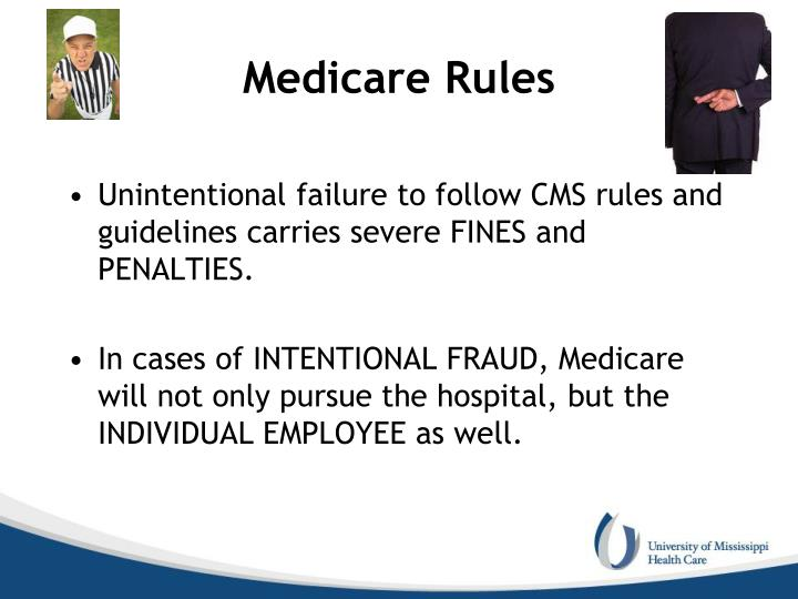 Medicare Rules