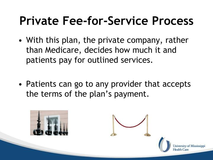Private Fee-for-Service Process
