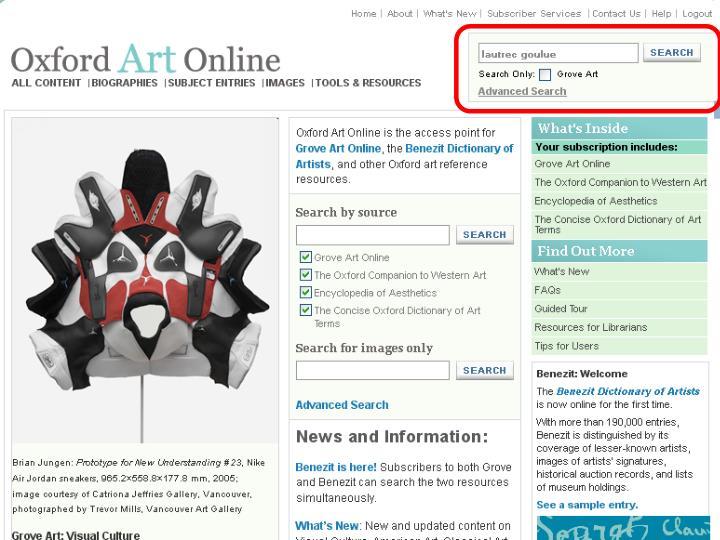 Oxford Art Online