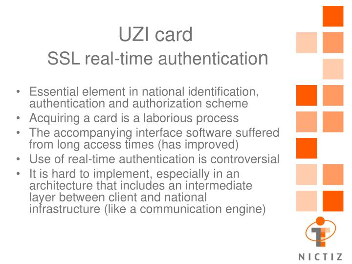 UZI card