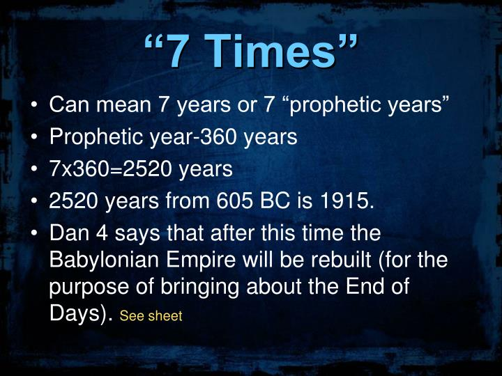 """""""7 Times"""""""