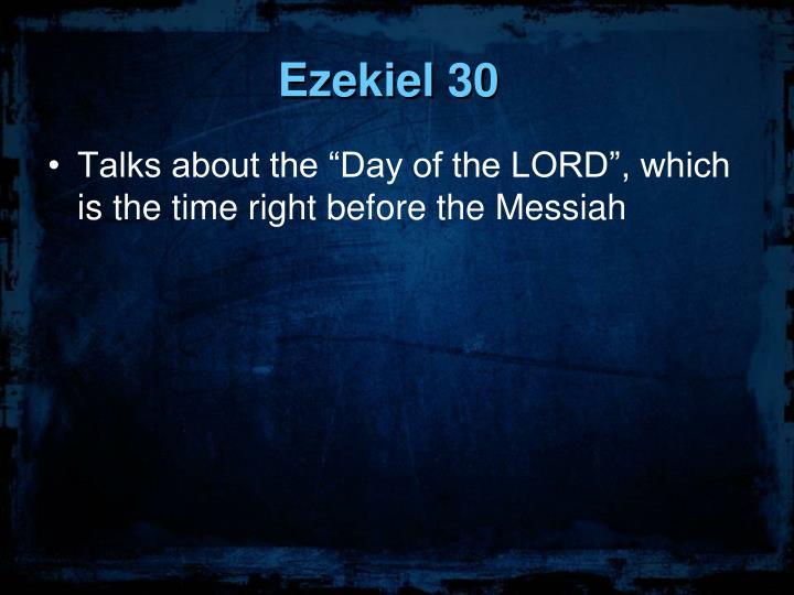 Ezekiel 30