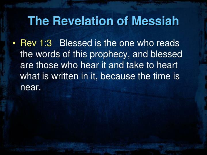 The Revelation of Messiah