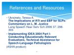 references and resources5