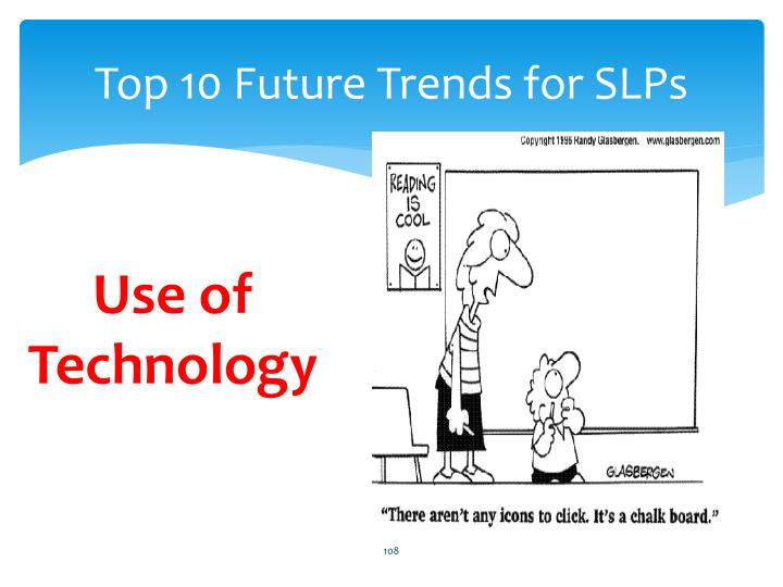 Top 10 Future Trends for SLPs
