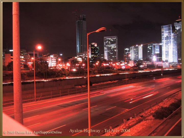 Ayalon Highway - Tel Aviv 2004