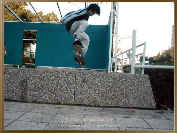 Skating – Ramat-Gan 2002