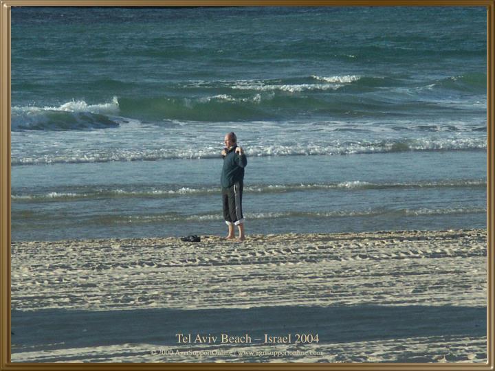 Tel Aviv Beach – Israel 2004
