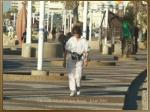 the walk way in tel aviv beach israel 20041