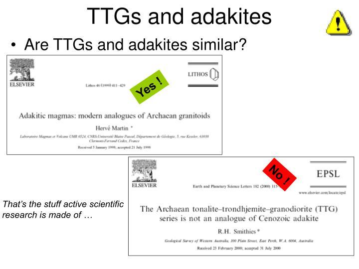 TTGs and adakites
