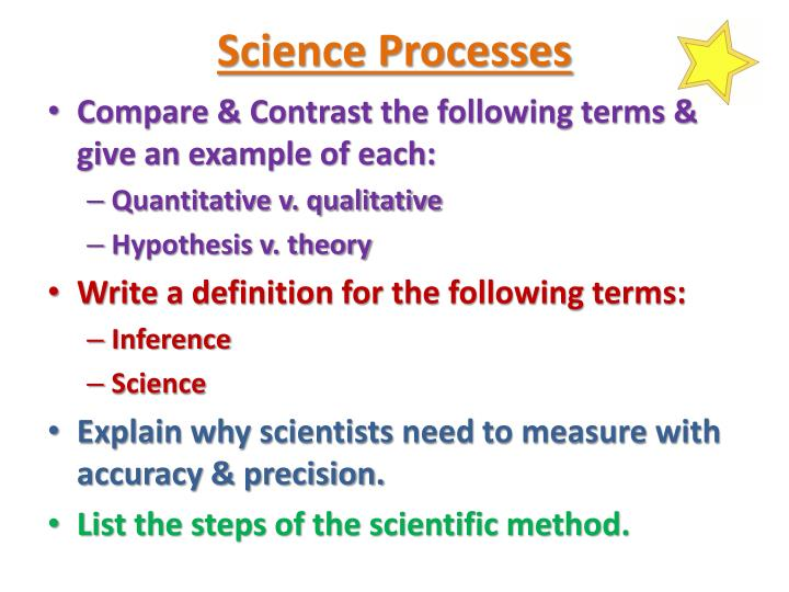 Science Processes