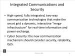 integrated communications and security