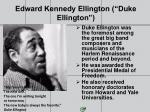 edward kennedy ellington duke ellington