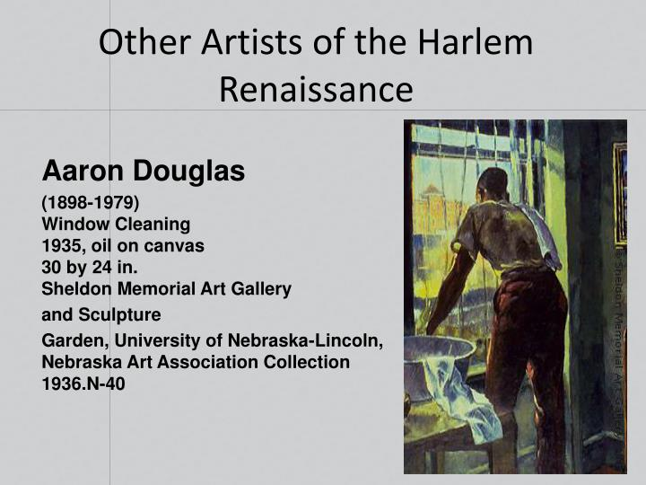 Other Artists of the Harlem Renaissance