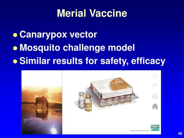 Merial Vaccine