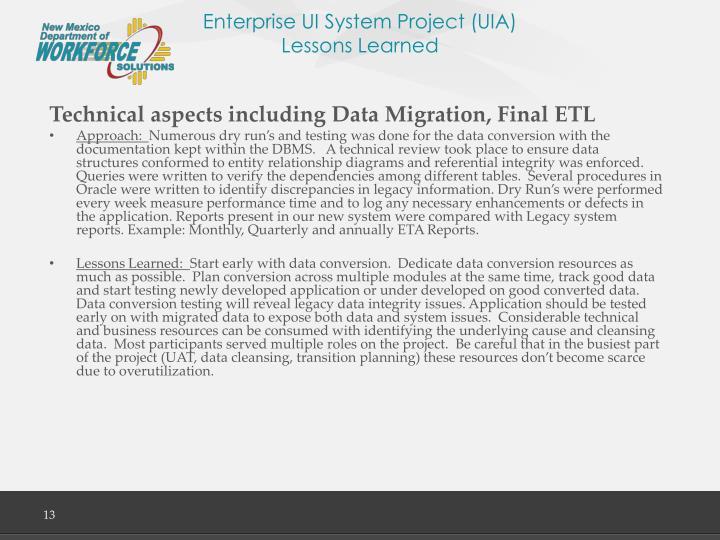 Enterprise UI System Project (UIA)