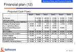 financial plan 12