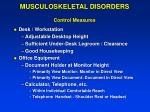 musculoskeletal disorders control measures2